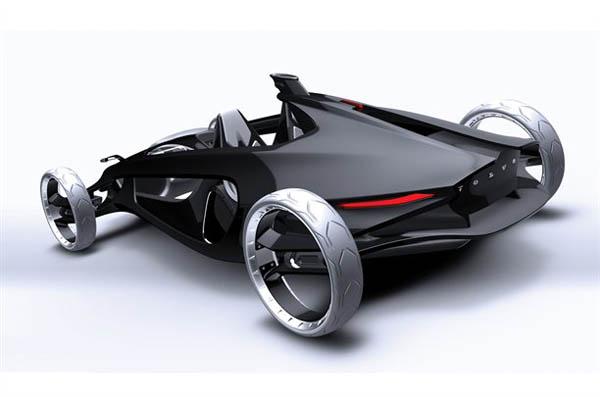 дизайнер машин концепт кар
