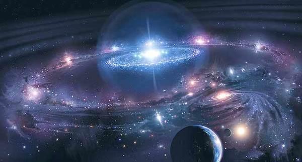 Наша Вселенная четырежды сталкивалась с параллельными мирами